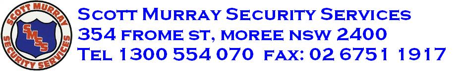 Scott Murray Security Services